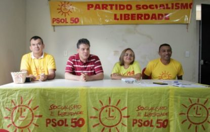 Psol formalizará nome de Melque Aires como candidato a vice-governador de Mário Lúcio