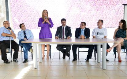Luana Ribeiro participa de entrega de Centro de Formação e Produção do Trabalho Prisional em Palmas