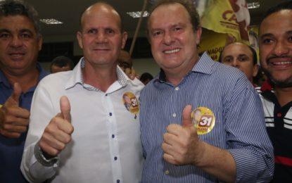 Prefeito de Santa Fé, Oídio Gonçalves declara apoio a Mauro Carlesse