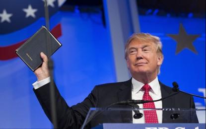 """Trump cita Bíblia em evento contra o aborto e declara: """"Toda vida tem um propósito"""""""