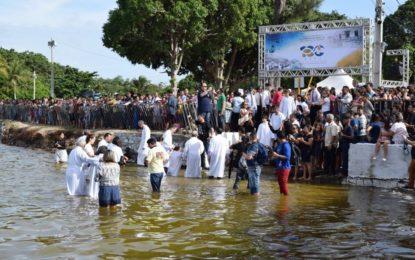 Em comemoração ao centenário AD no Rio Grande do Norte batiza cerca de 2 mil pessoas
