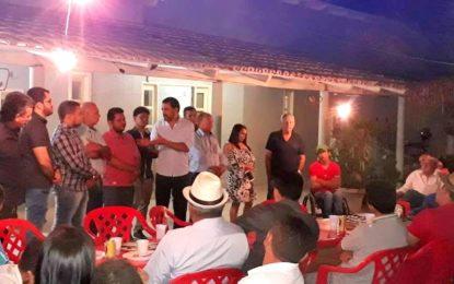 Wanderlei Barbosa se reúne com produtores e participa da XIII Feira da Soja em Campos Lindos