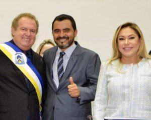 Em sessão solene, Luana assume presidência da AL e empossa governador e vice