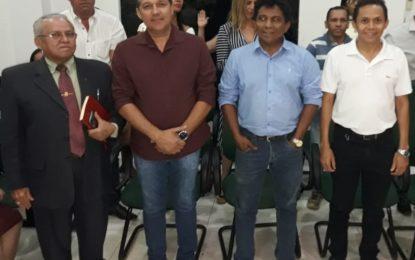 Pastor Pedro Lima declara apoio aos pré-candidatos Irancildo Serra e Nuir Junior