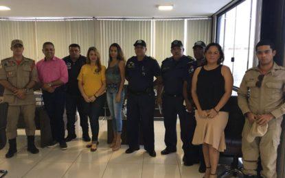 Forças de segurança se reúnem para garantir a tranquilidade do Festival Gastronômico de Taquaruçu