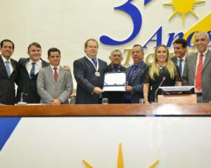 Carlesse, Avelino e Siqueira são homenageados em comemoração aos 30 anos do Estado
