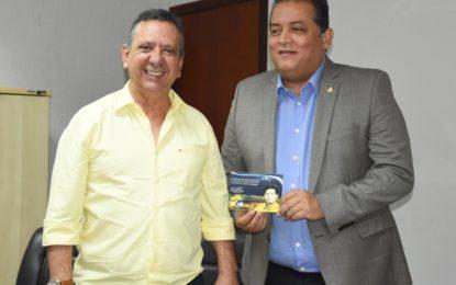 Agenda positiva para TO é debatida em encontro entre Antonio Andrade e Eduardo Gomes