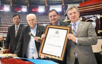 Presidente da CGADB recebe título de Cidadão Mato-Grossense